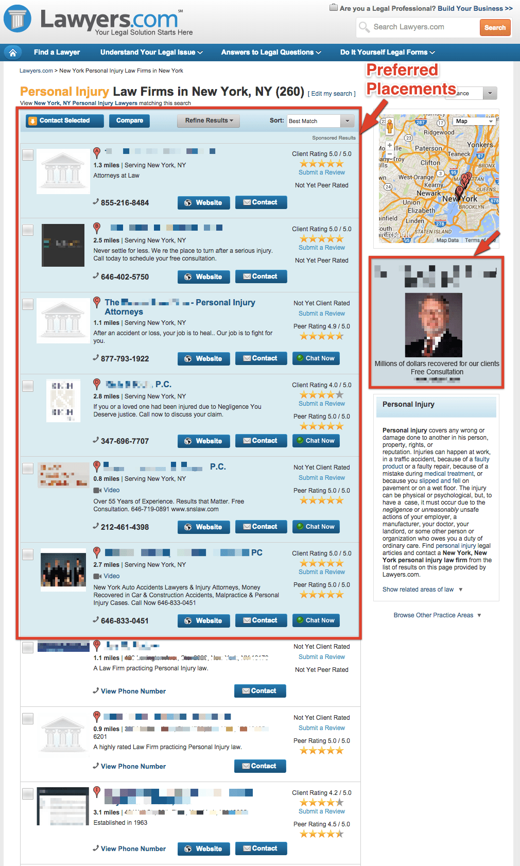 Preferred Placements - Postali LLC