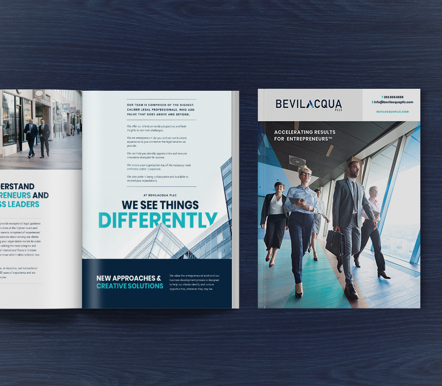 Bevilacqua print brochure