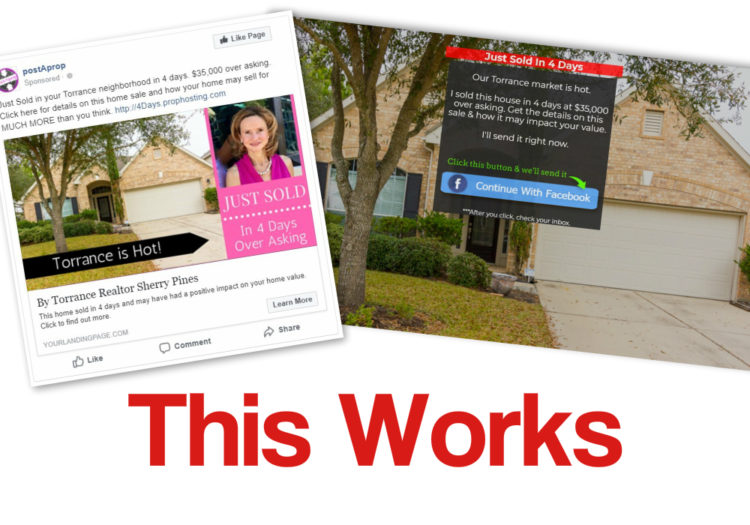 Just Listed Amp Just Sold Facebook Ad Example 171 Postaprop