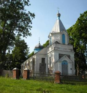 Церковь Покрова Пресвятой Богородицы в д.Ласица (Поставский р-н)