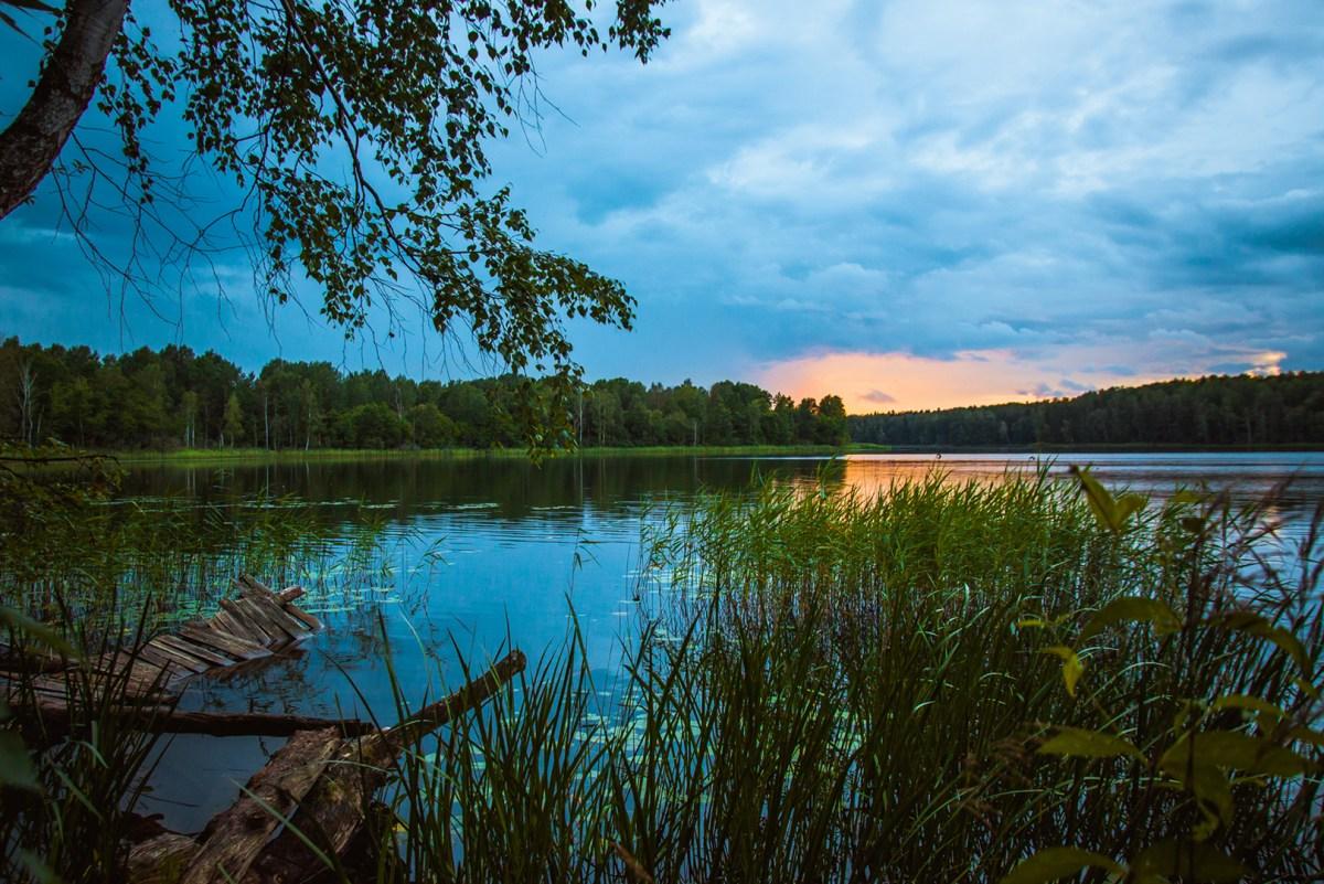 Голубые озера - легенды