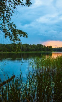 Голубые озера — легенды