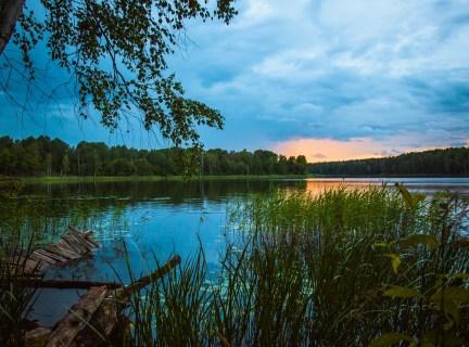 Голубые озера – легенды