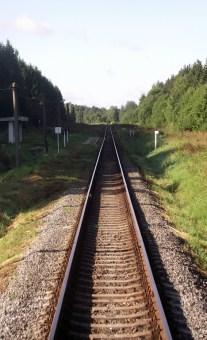 На поезде из Постав в Глубокое