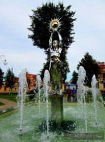 Поставы фонтан на центральной площади 2