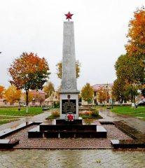 Памятники Поставского района — Великой Отечественной Войны