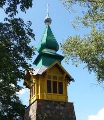 Царква ў Асінавым Гарадку — 1680 год
