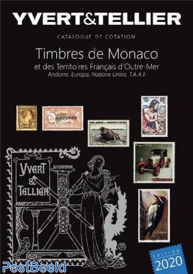 Catalogue Yvert Et Tellier 2019 : catalogue, yvert, tellier, Yvert, Tellier, 1-bis, Monaco-Andorra, 2020,, Collecting, Stamps, PostBeeld, Online, Stamp