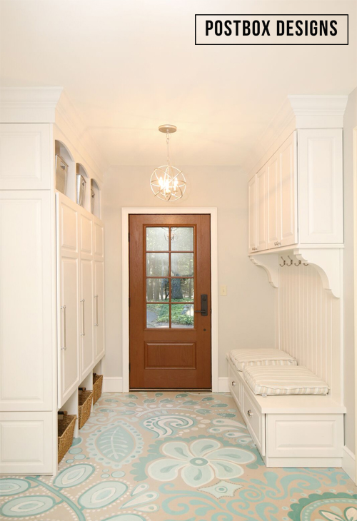 My Mudroom Floors $80 Makeover: How to Paint Your Ugly ... on house exterior, house paint schemes, house crafts, house photoshop, house watercolor, house bed, house people, house painter, house family, house design, house orange, house colors, house painting, house drawing, house artwork, house construction,