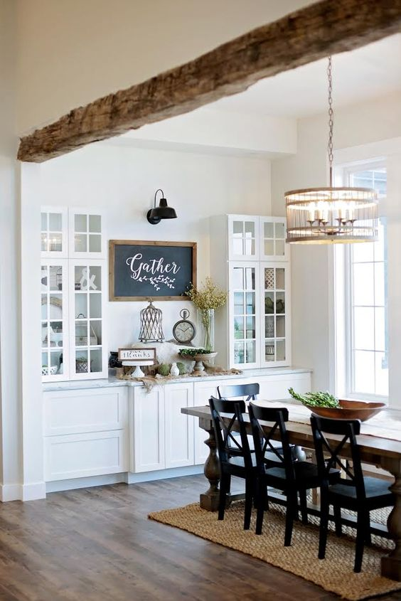 Room Design Free: Create Your Dream Farmhouse Dining Room With A Free Mood