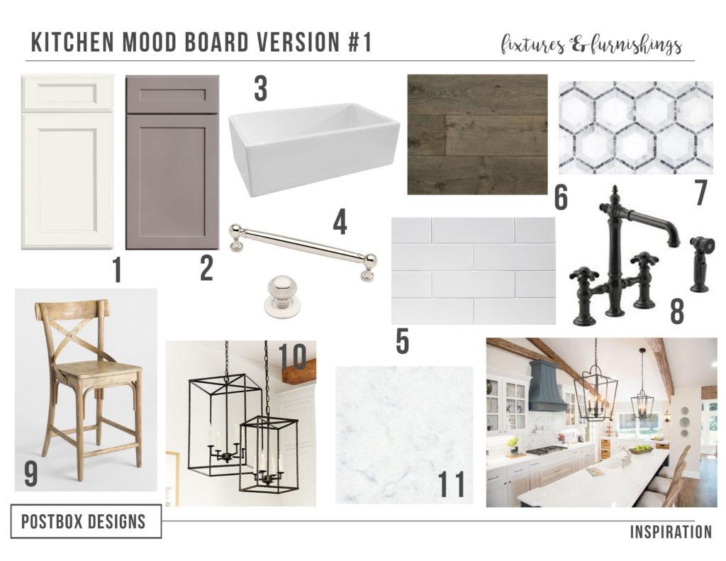 Farmhouse Kitchen 4 Mood Boards to Create Your Dream