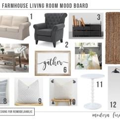Tan Sofa Decor Rio Corner Bed Chaise With Storage $1200 Modern Farmhouse Living Room + Free Mood Board ...