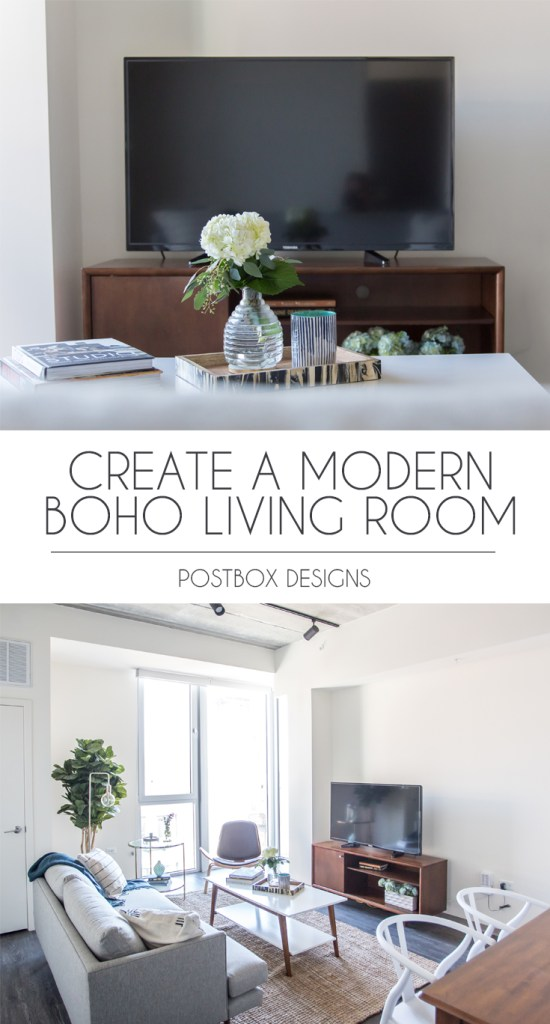 Online Room Design For Free: See The Before & Afters Of This Modern Boho Living Room
