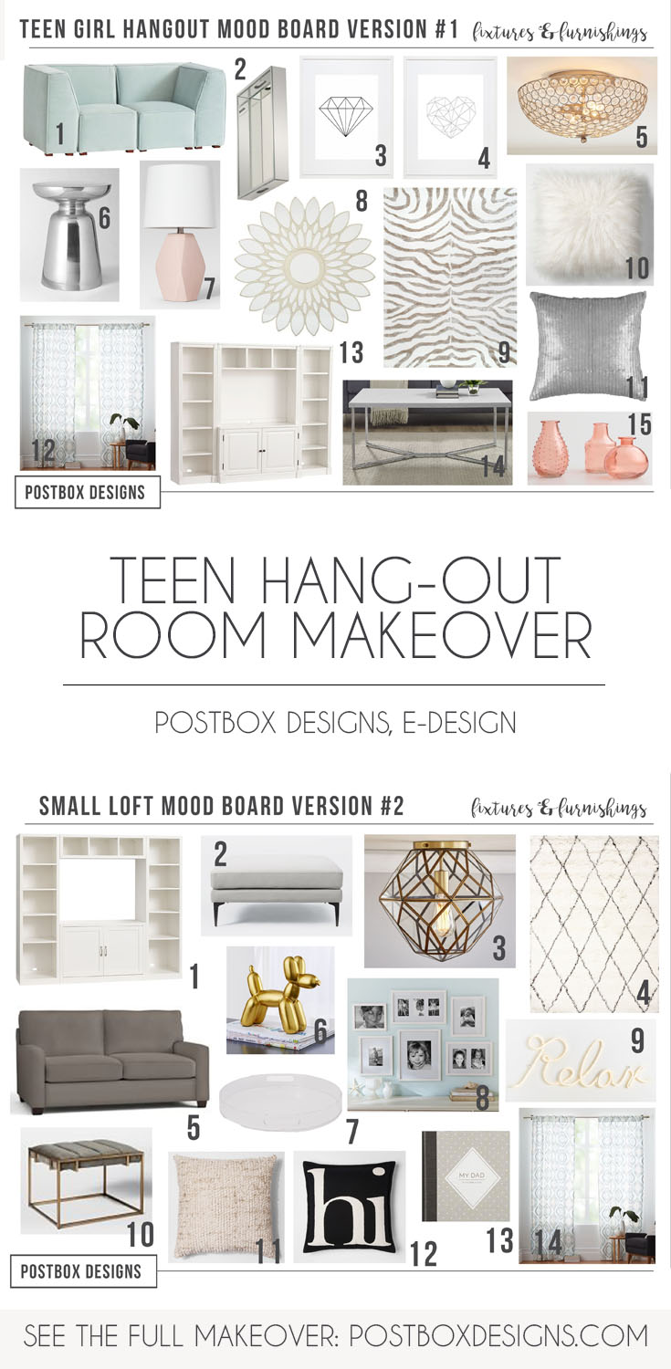 Teen Space Decor Postbox Designs Online Interior Design