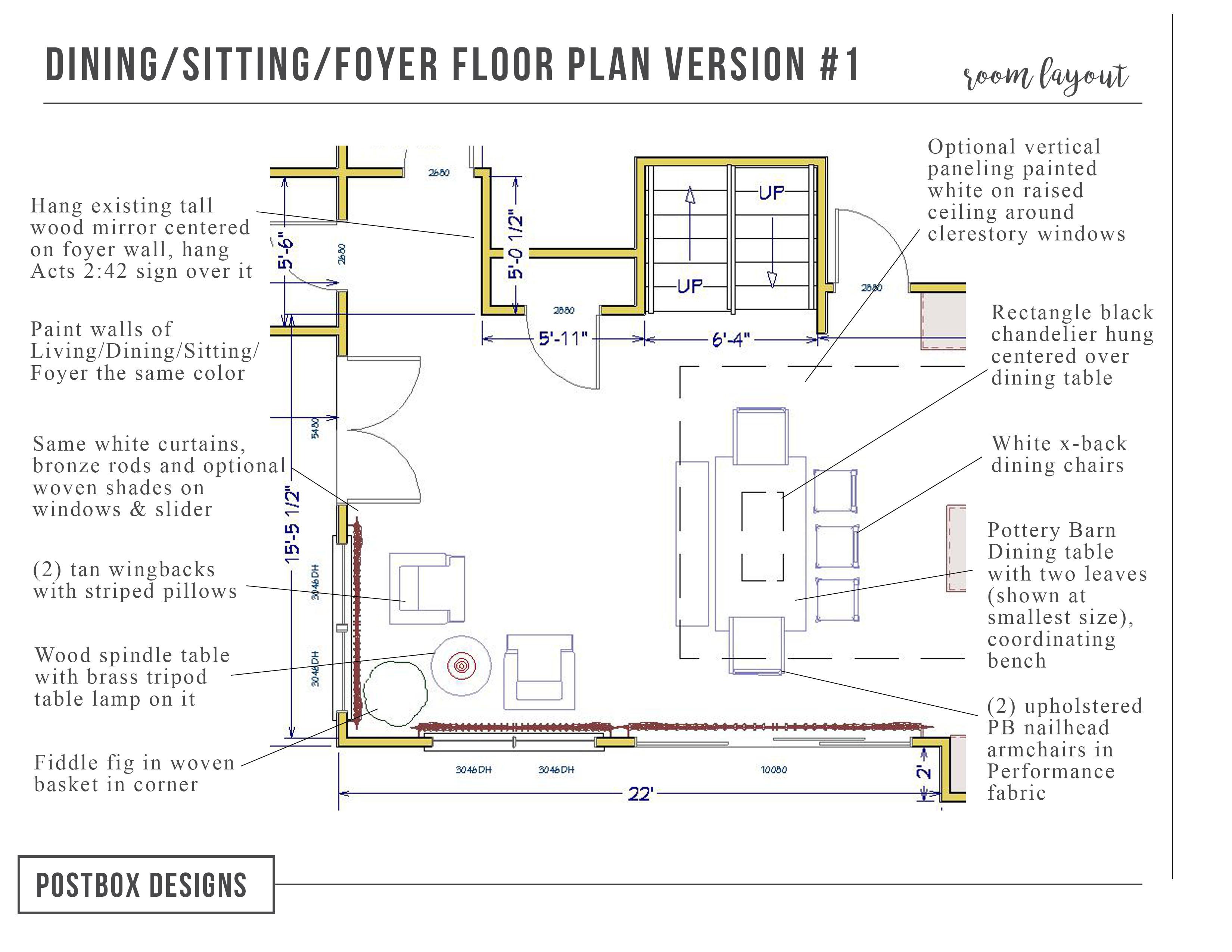Big Reveal Peek Inside This Modern Farmhouse Kitchen Dining Room Postbox Designs