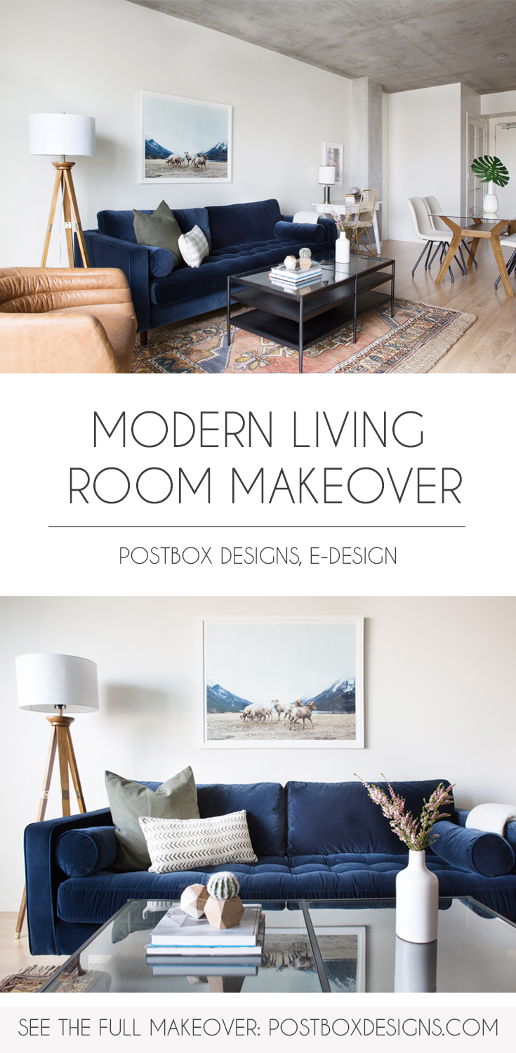Big Reveal Small Living Room Dining Room Makeover 7 Designer Secrets For Making Small Spaces Look Bigger Postbox Designs