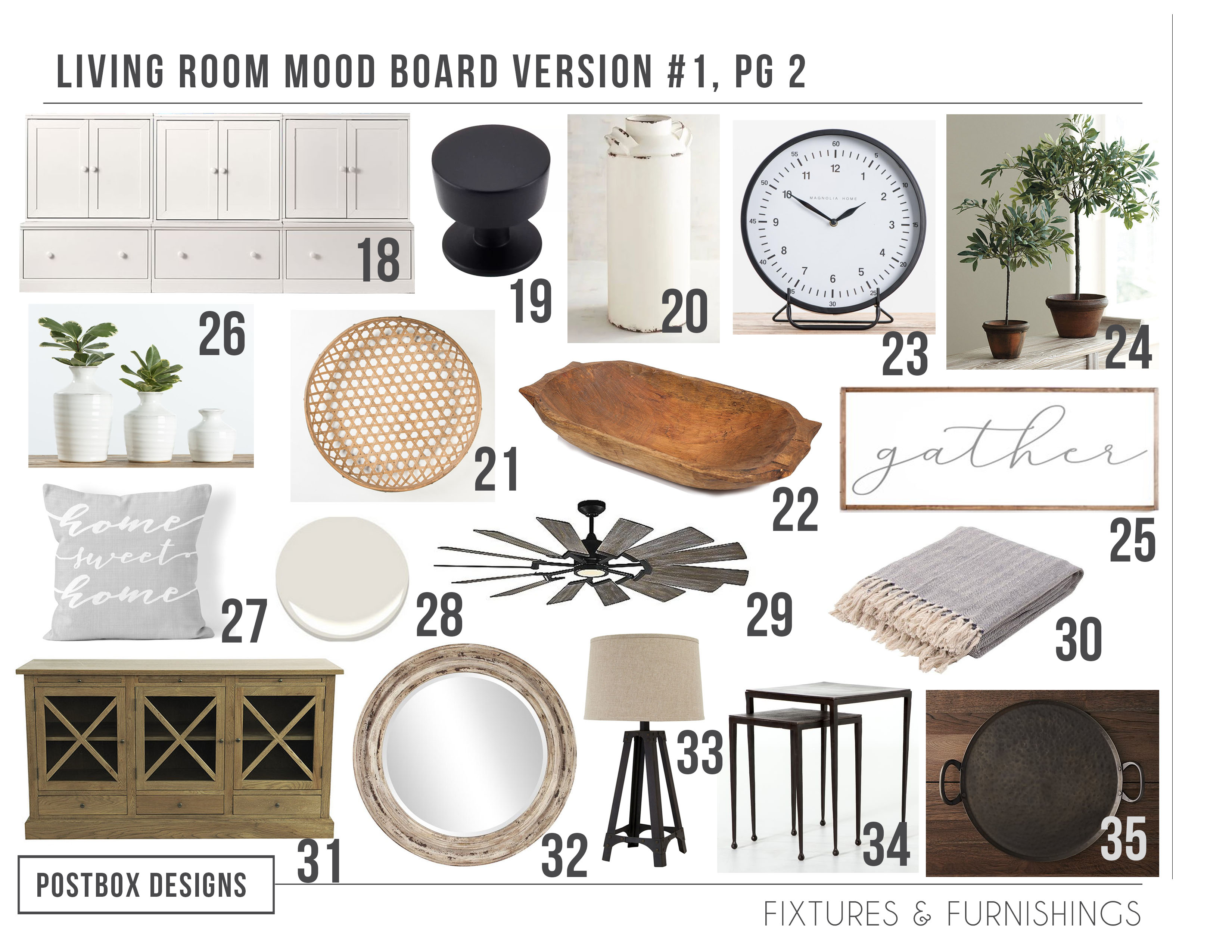 The Cheat Sheet 5 Modern Farmhouse Living Room Must Haves