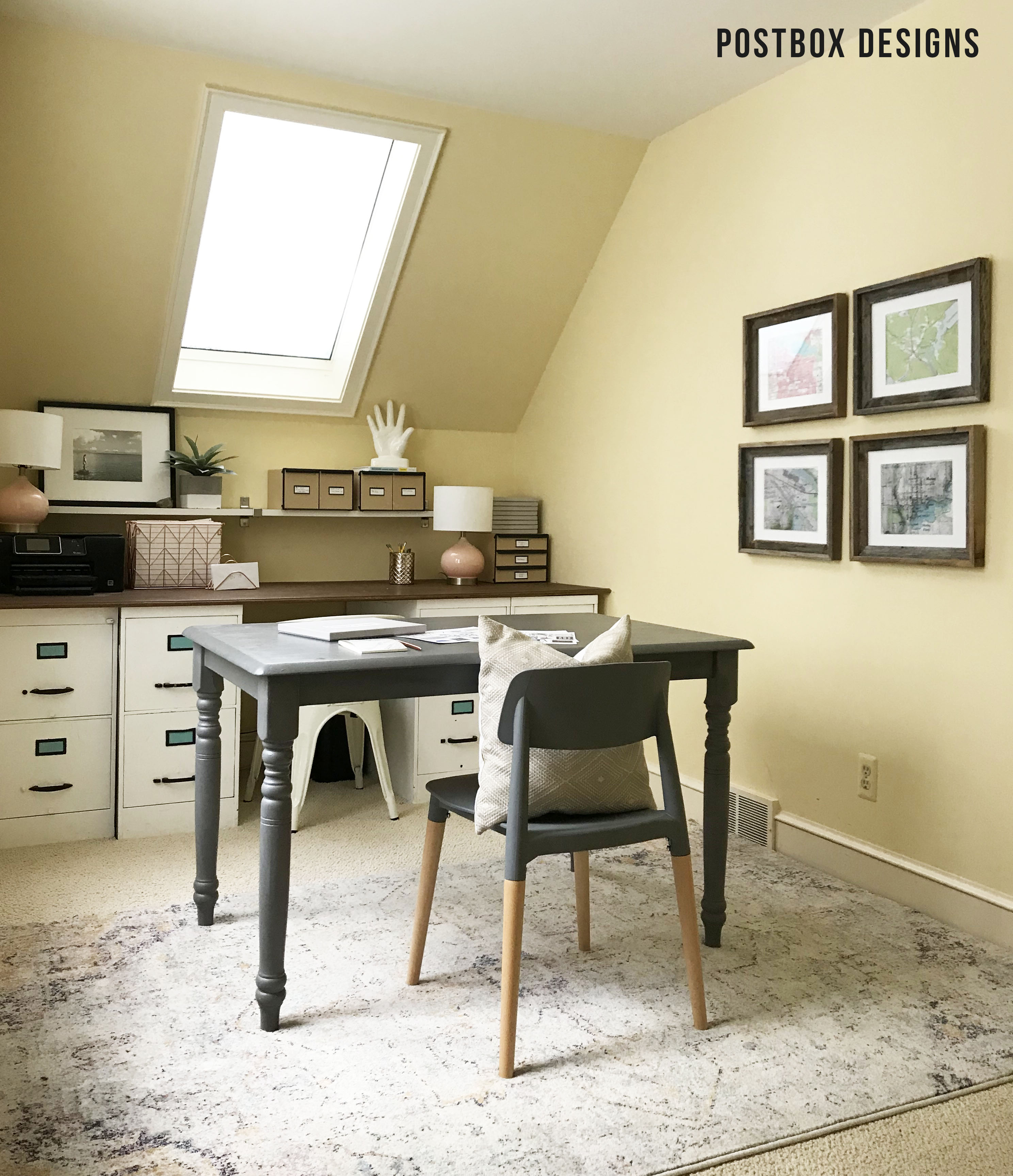 Take A Peek Into My Own Girl Boss Home Office Postbox Designs