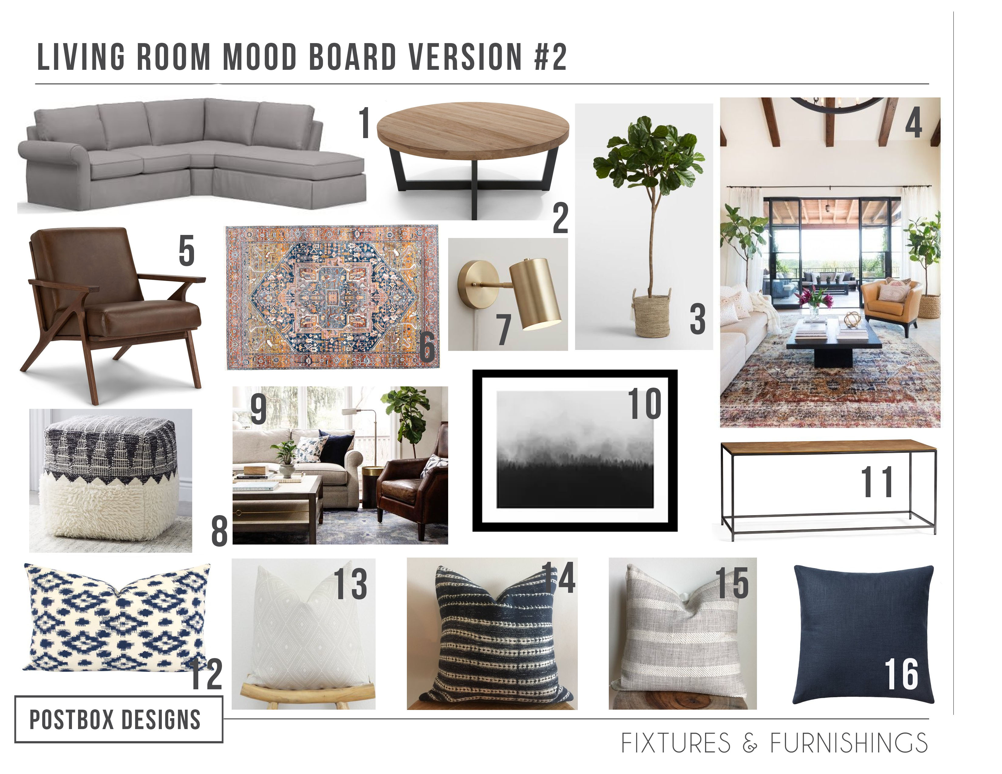 5 Ways To Create A Rustic Neutral Living Room In Your Home Postbox Designs