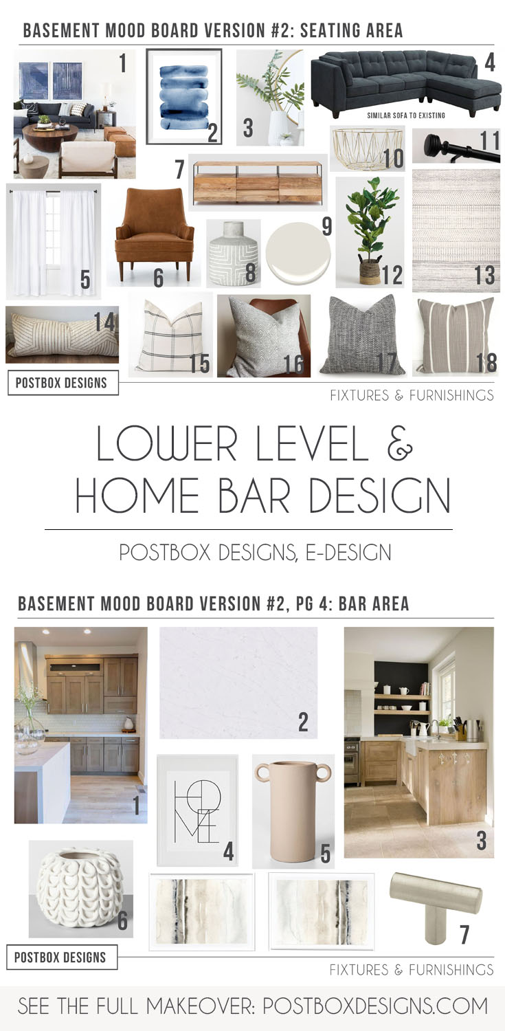 Want To See A Basement Makeover As Fancy As Upstairs Modern