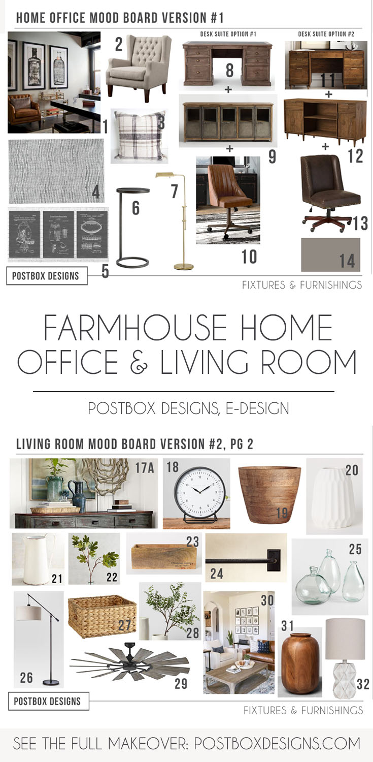 5 Ways To A Polished Modern Farmhouse Living Room Postbox Designs