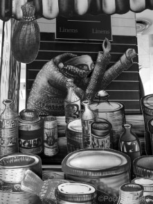 7. Market Traders by Phlegm. Castle House, Sheffield - September 2014