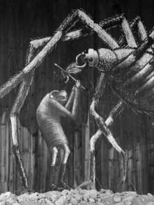 9. Spider by Phlegm, Sheffield - January 2015