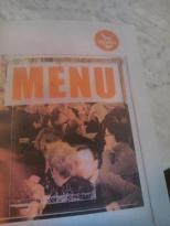 Vooruit menu kaart
