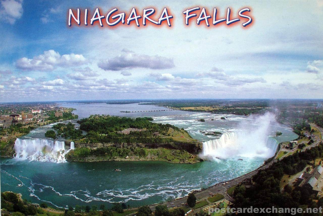 Postcards Niagara Falls And Fall
