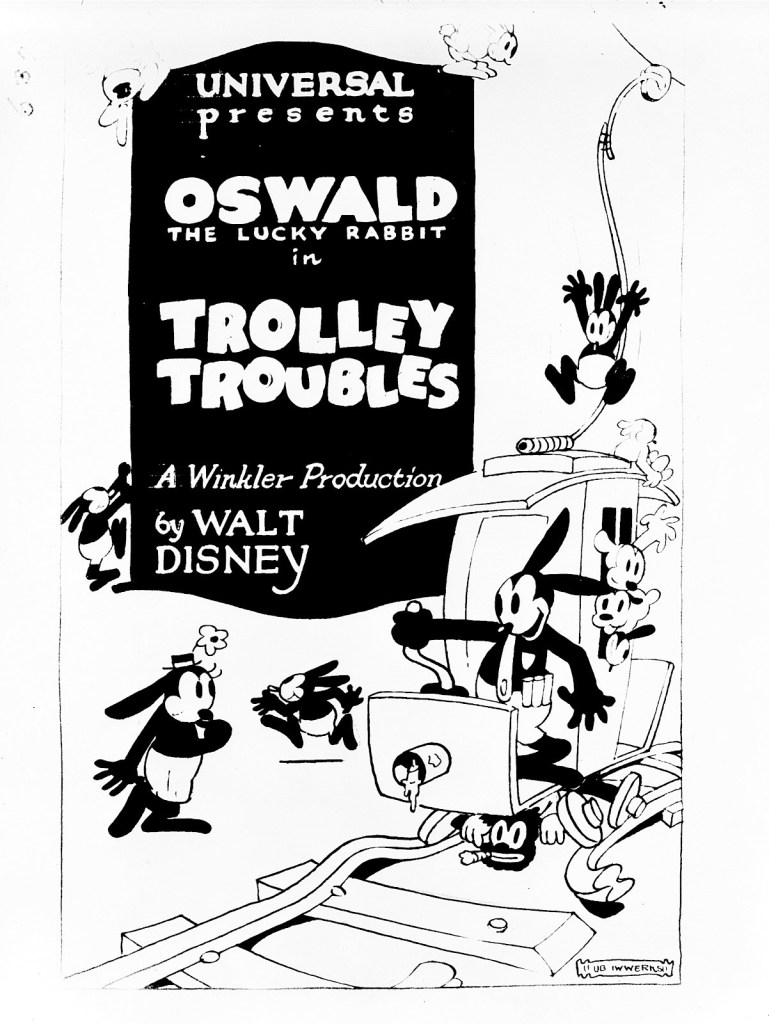 Poster of Trolley Troubles, the second Oswald short film