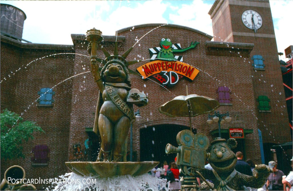Muppets Postcard