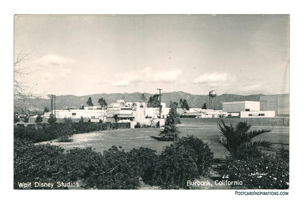 Disney Studios (Postcard)