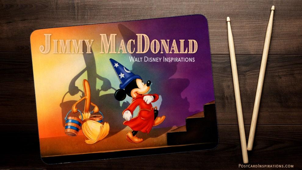 Jimmy MacDonald: Walt Disney Inspirations