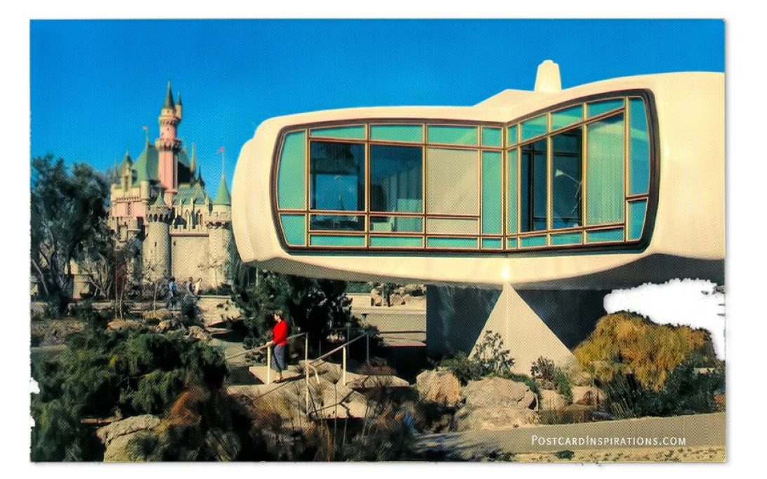 House of Tomorrow – invites guests to tour the home of the future, as sleeping beauty's medieval castle makes a dramatic comparison in the background.