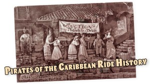 Pirates of the Caribbean Ride History