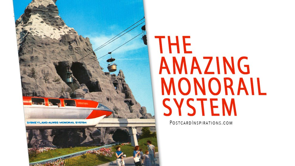 The Amazing Disney Monorail System