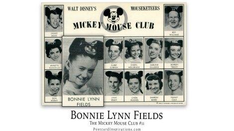 Bonnie Lynn Fields: The Mickey Mouse Club