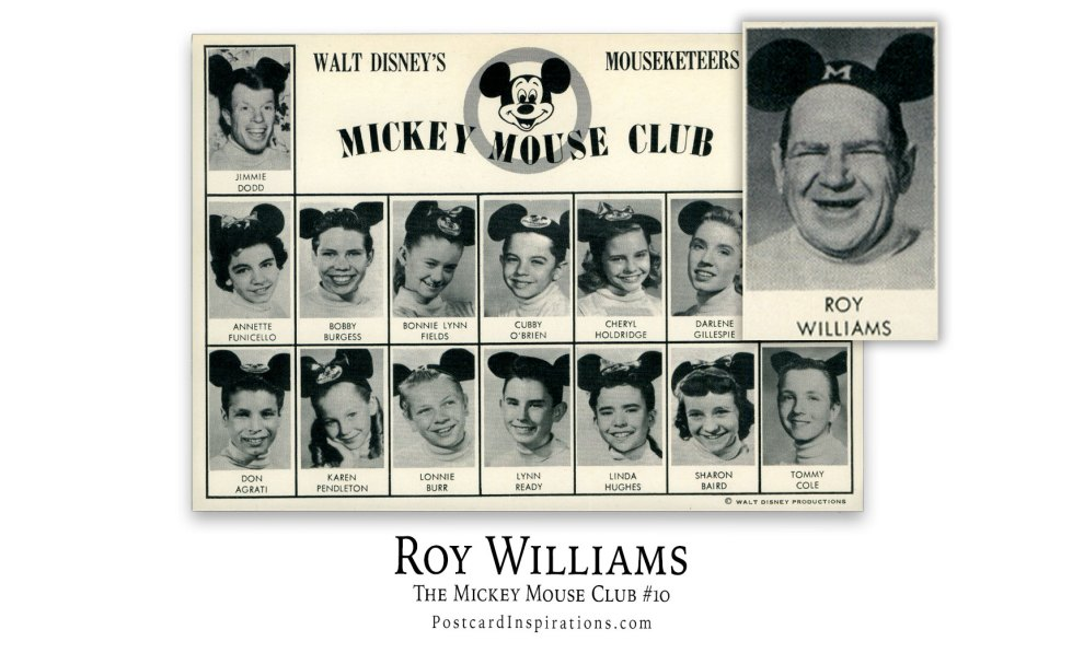 Roy Williams: The Mickey Mouse Club