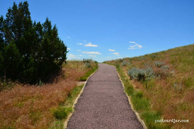 Trail at the top of Scottsbluff Monument (Photo by Ann Teget)