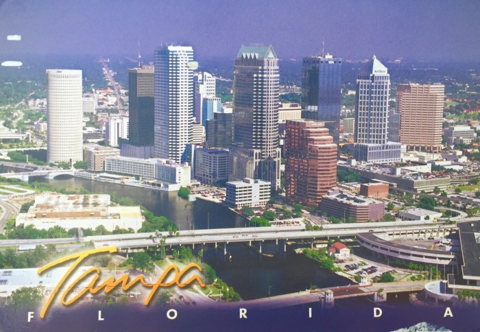 Postcard from Tampa