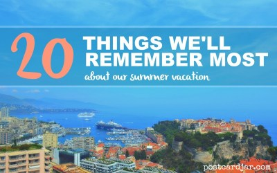 A memorable European vacation