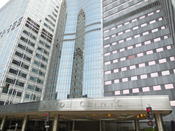 One of the world's best medical treatment facilities - Mayo Clinic in Rochester, Minnesota.