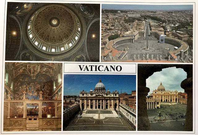 Vatican postcard