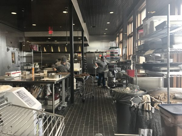 The Pioneer Woman Mercantile bakery kitchen