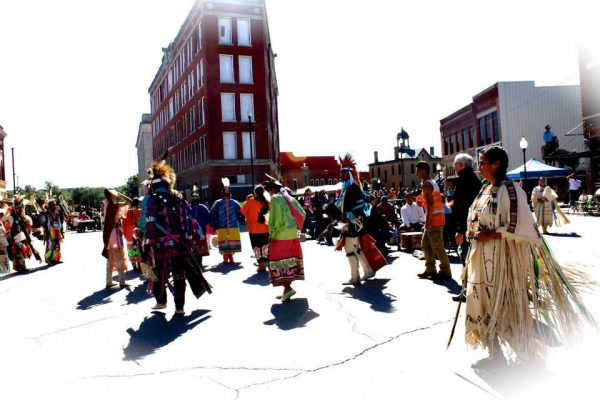 Pow Wow dancing