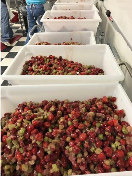Fruit pie filling, Village Pie Maker, Eustis, Nebraska