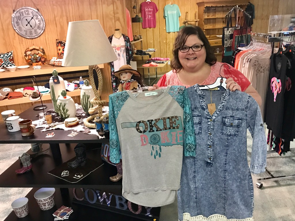 Grape Dumplin' clothing, Pawhuska, Oklahoma