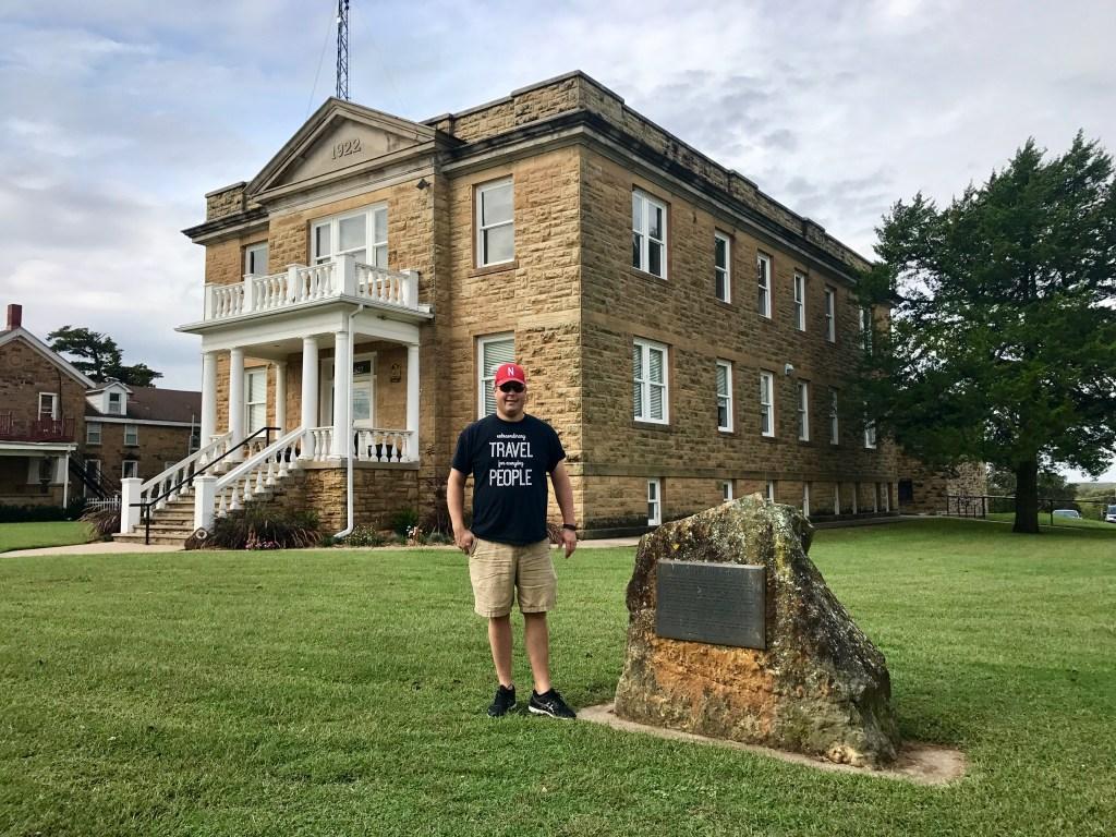 Million Dollar Elm momument, Pawhuska, Oklahoma