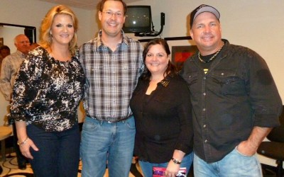 That time we got to hang out with Garth Brooks and Trisha Yearwood in Vegas