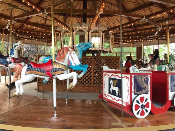 The carousel at Cody Park in North Platte, Nebraska.